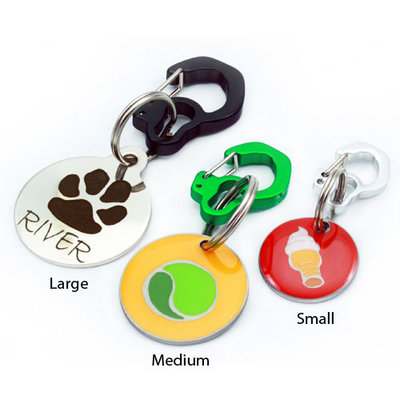 Rubit Clip-On Dog Tag Holder