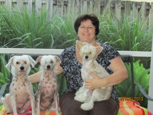 Linda McGrath-Cruz and her Fur Babies