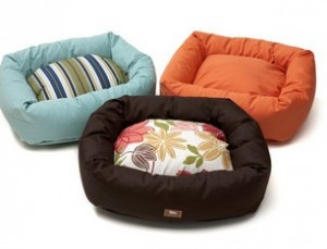 Bumper dog beds from dogIDs