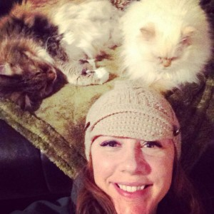 krista and cats