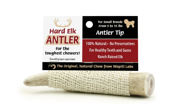 elk antler chew tips