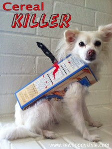 cereal killer dog costume