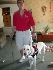 """My dog is the reason why I no longer rely full time on a wheelchair."" -Lisa W."