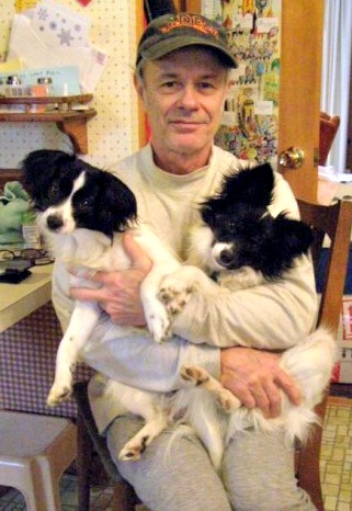ken h and Rosebud and Dusty