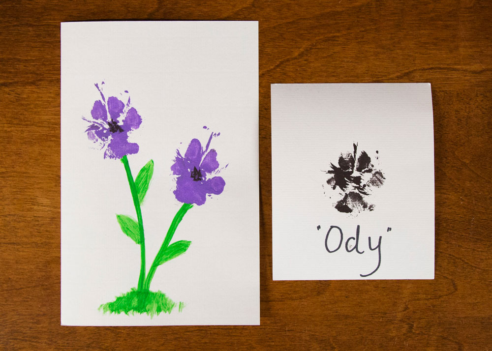 Last Minute DIY Dog Crafts For Mother's Day