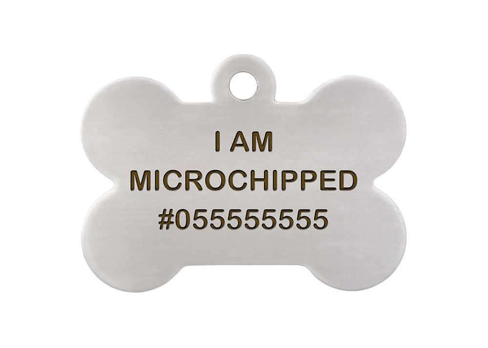 Microchipped ID Tag