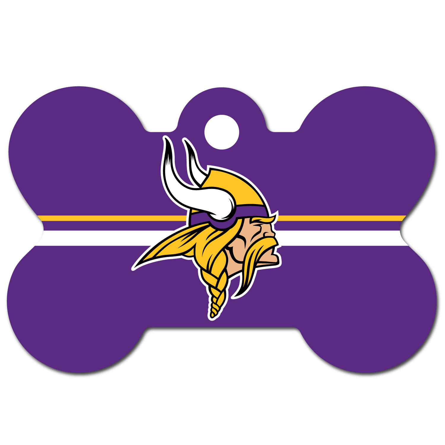 Minnesota Vikings Dog Tag