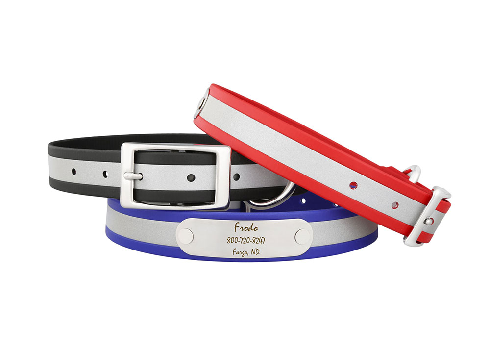 New Reflective Collars From dogIDs