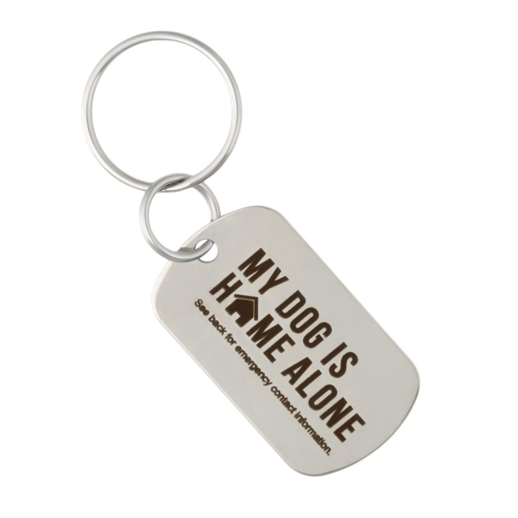 Emergency Contact KeyChain