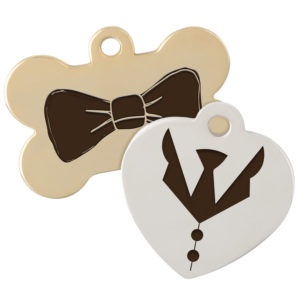 Tuxedo and Bow Tie tag