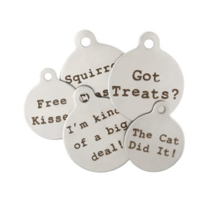 Funny Unique Dog ID Tags