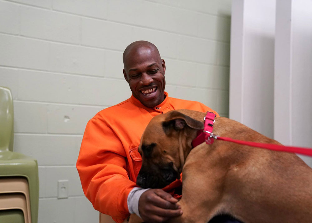 Canine CellMates: Offering a 2nd Chance for Dogs & Inmates