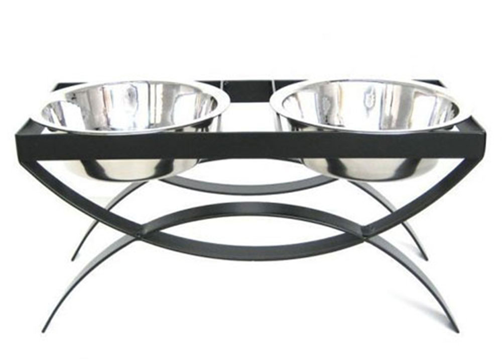 Double Elevated Dog Bowl