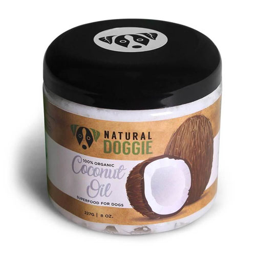 natural doggie coconut oil
