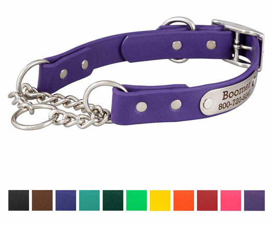 personalized waterproof martingale